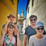 Věž zámku Český Krumlov