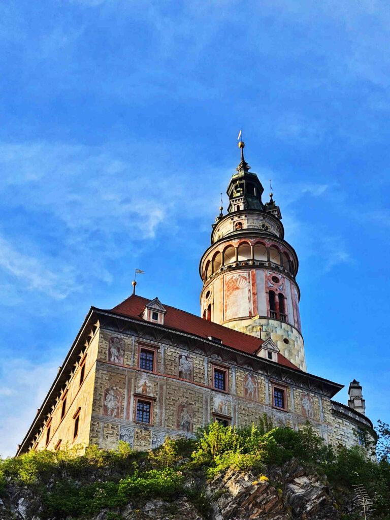 Hrádek a zámecká věž, Český Krumlov